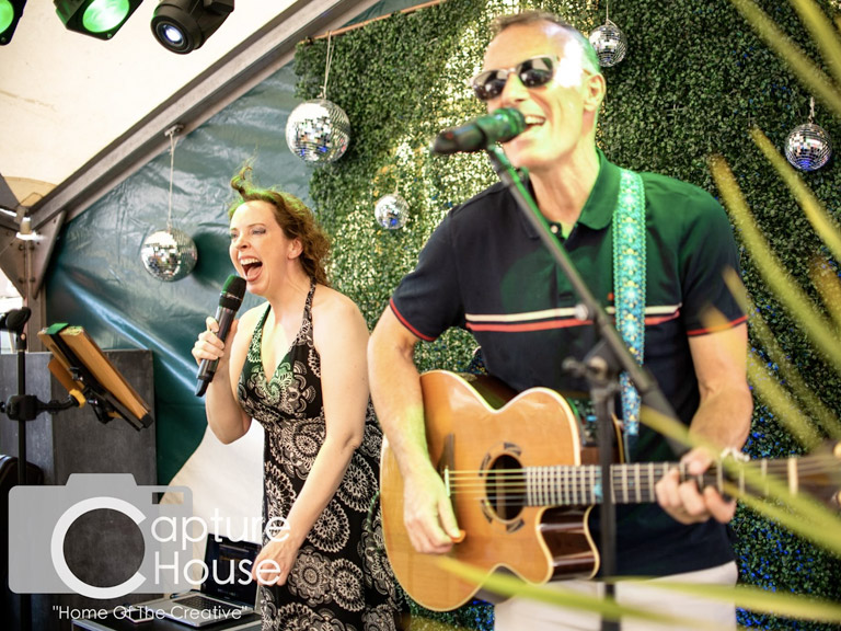 Afterglow acoustic wedding band in essex